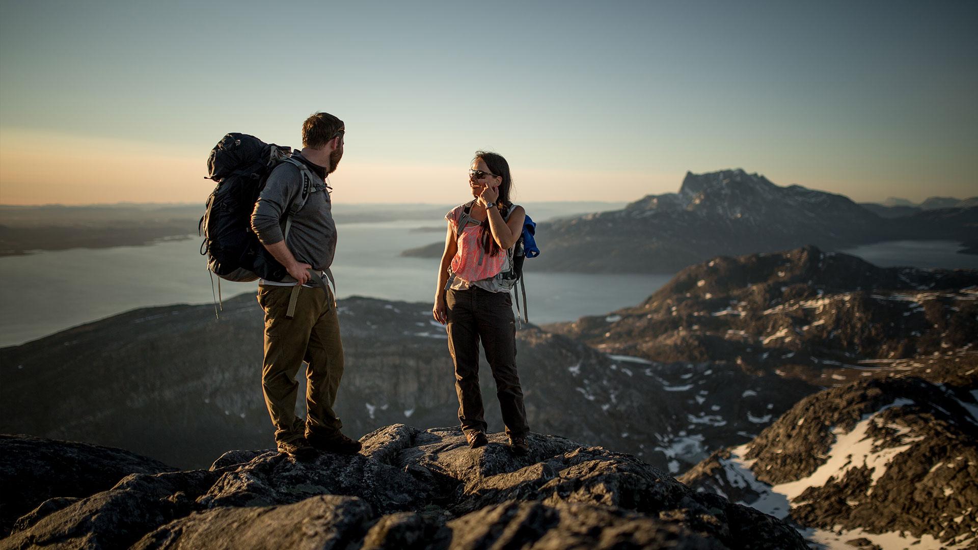Greenland Guided Hiking & Trekking Tours : Hiking Breaks
